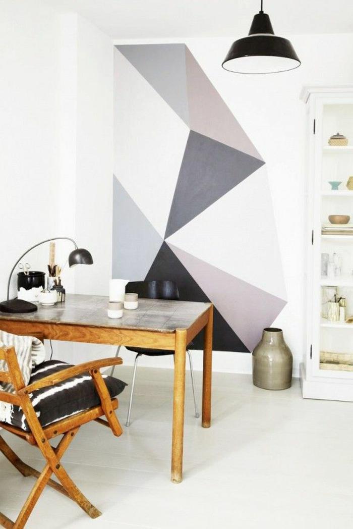 1-papier-peint-geometrique-blanche-et-noir-dans-la-salle-de-séjour-moderne-meubles-en-bois