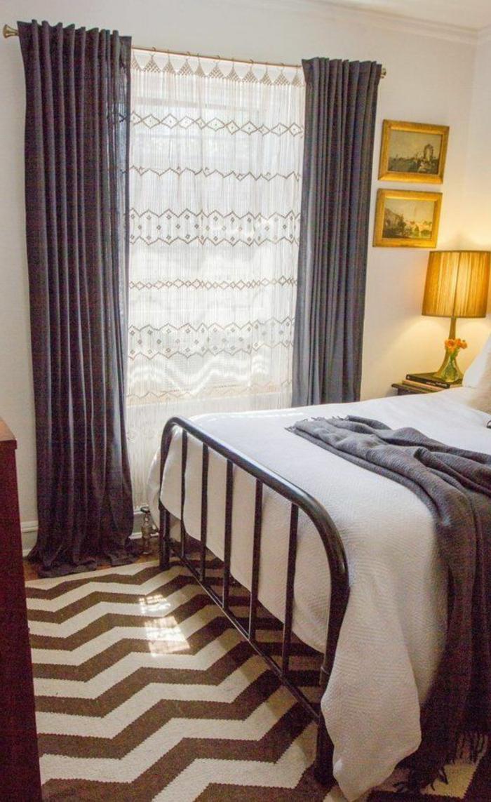 1-quelle-voilage-fenetre-choisir-pour-la-chambre-à-coucher-aver-rideaux-gris