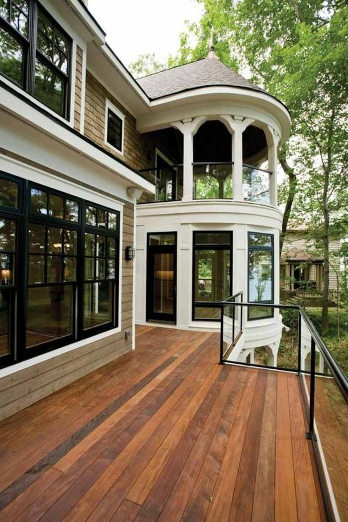 1-une-jolie-maison-garde-corps-castorama-en-verre-transparnt-quel-balustrade-extérieur-choisir