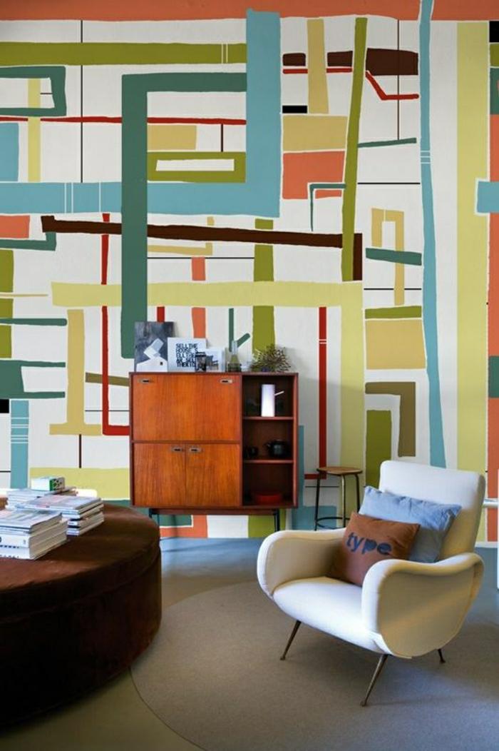 12-tapisserie-leroy-merlin-geometrique-coloré=pour-le-salon-meubles-d-intéreur-moderne