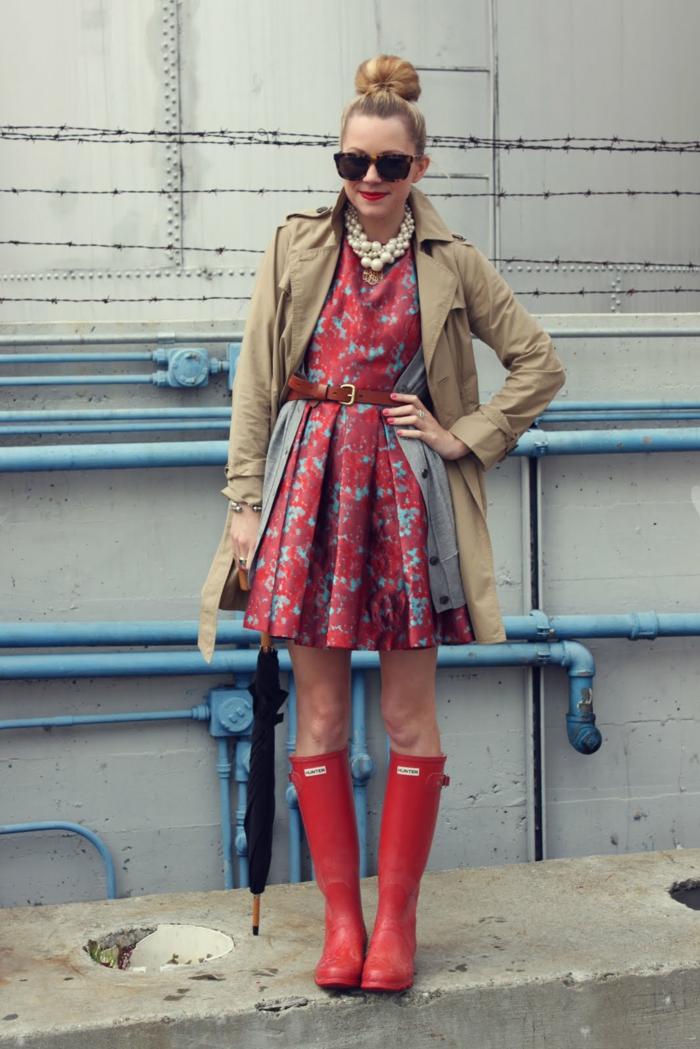 2-botte-aigle-bottes-en-caoutchouc-idées-shaussures-pluie-belle-femme-chique