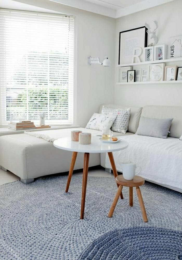 Choisir le meilleur tapis scandinave avec notre galerie for Quel canape choisir pour un petit salon