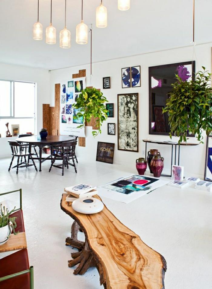 Beaucoup d id es pour comment d corer son salon - Idee deco plante interieur ...