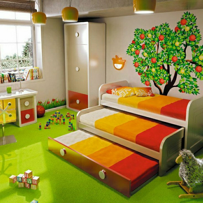 2-monsieur-meuble-pour-la-chambre-d-enfant-avec-tapis-vert-fausse-pelouse