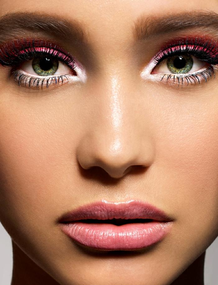 2-un-conseil-maquillage-yeux-verts-maquillage-comment-faire-ombre-à-paupières-rouge-resized