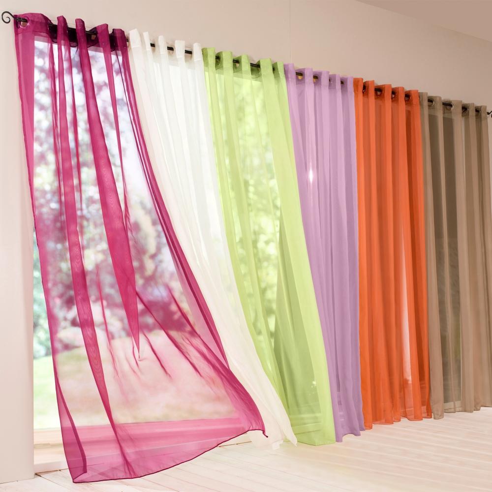 Decoration Veranda Salon : Le rideau voilage dans photos
