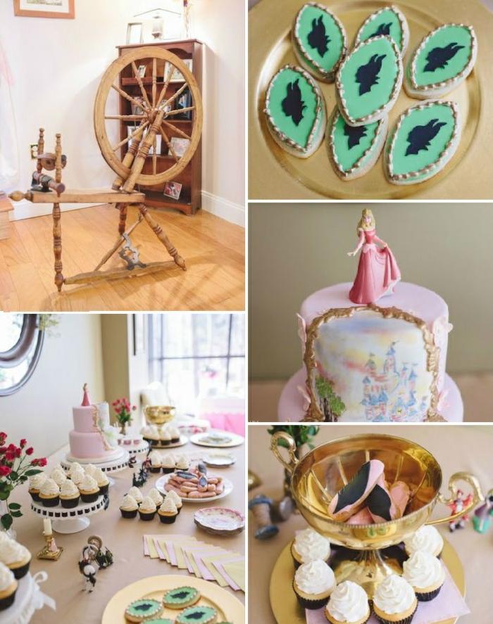 5-déco-à-faire-à-soi-même-gâteau-anniversaire-thème-Disney-Aurore-belle
