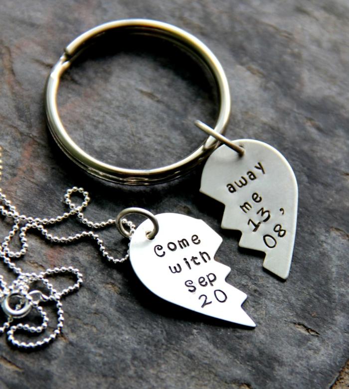 Belle-idée-cadeau-original-femme-à-faire-soi-même-bijoux-photo-ramque-demi-coeur-pendatif