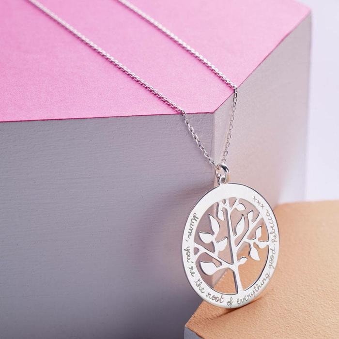 Belle-idée-cadeau-original-femme-à-faire-soi-même-bijoux-photo-ramque-l-arbre-de-vie