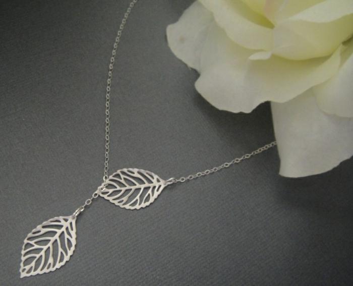 Belle-idée-cadeau-original-femme-à-faire-soi-même-bijoux-photo-ramque-une-feuille