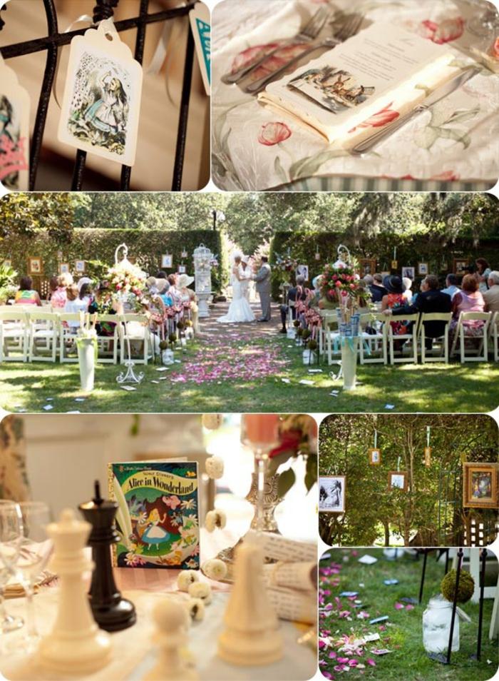 Disney-Alice-au-pays-des-merveilles-gâteau-mariage-fête-décorations-idées