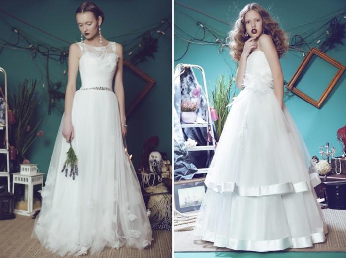 Idées-au-pays-des-merveilles-Alice-Disney-robe-de-mariée-robe-de-princesse-belle-longue-robe-blanche