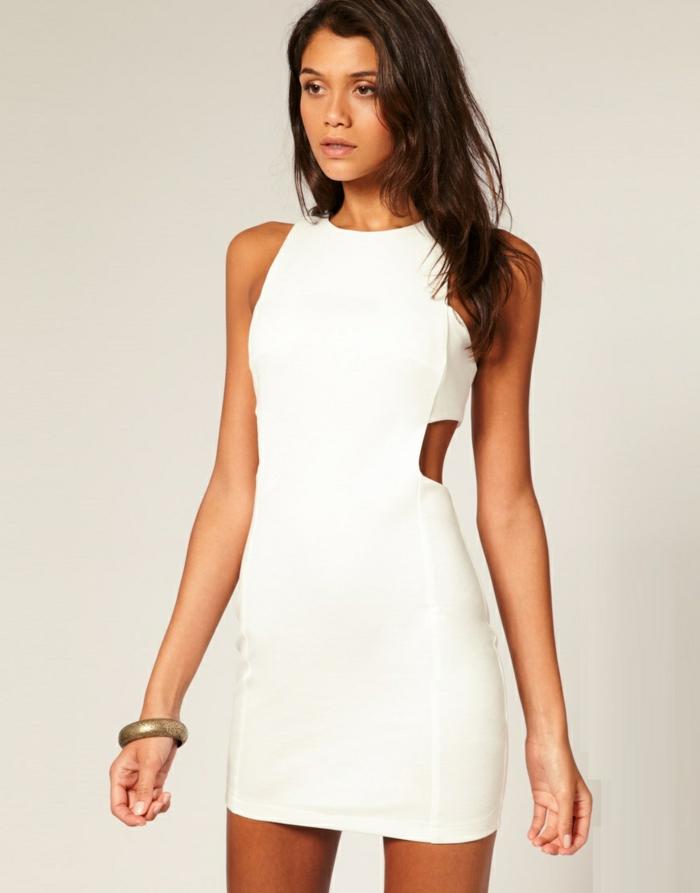 8d190756cae Robe droite blanche robe femme chic