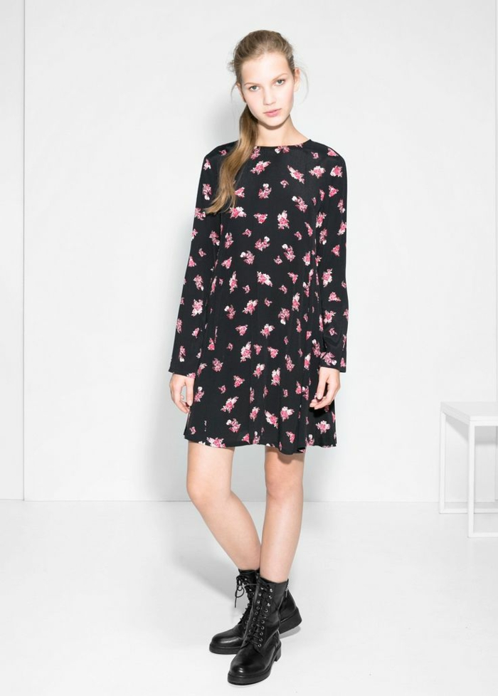 La-robe-droite-fluide-robe-automne-hiver-2015-tendences-robe-fleurie