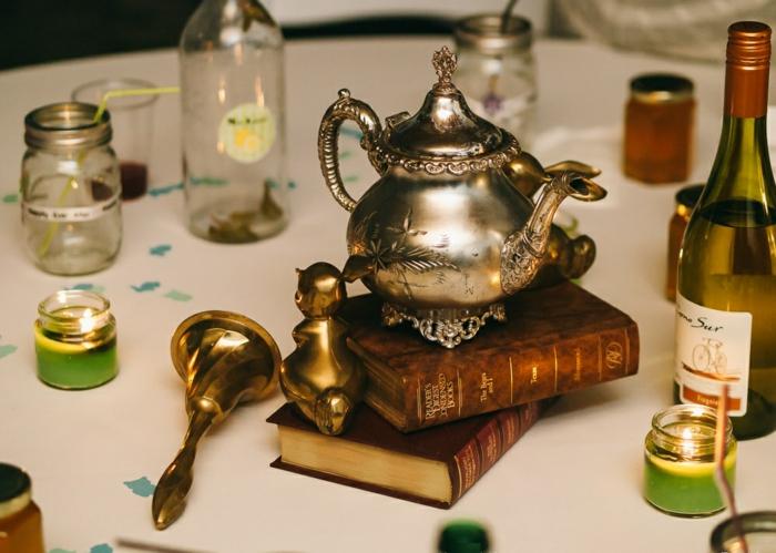 Les-personnages-Alice-au-pays-des-merveilles-disney-décoration-table-de-mariage-thé