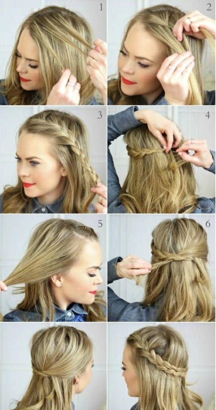 Un-chignon-banane-sur-cheveux-mi-longs-idées-cheveux-tresse-resized