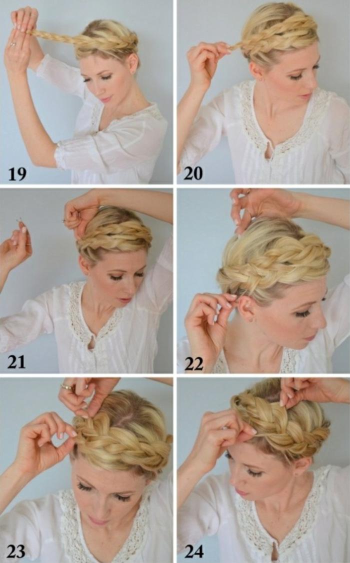 Comment faire une coiffure pour cheveux mi long