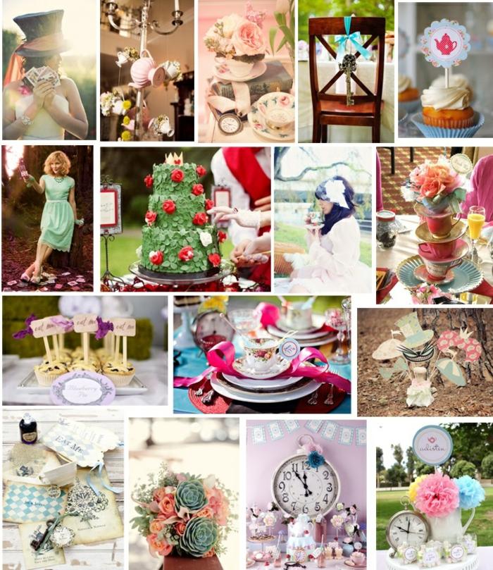 alice in wonderland photo booth ideas - Alice au pays des merveilles Disney film qui inspire déco