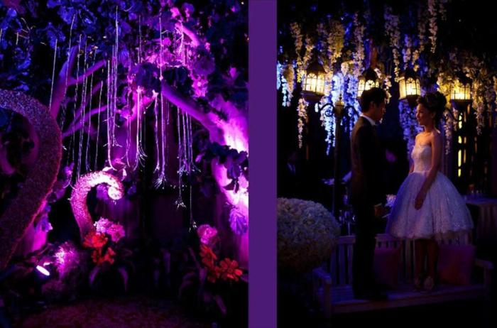 Walt-disney-alice-au-pays-des-merveilles-idées-déco-table-mariage-violet