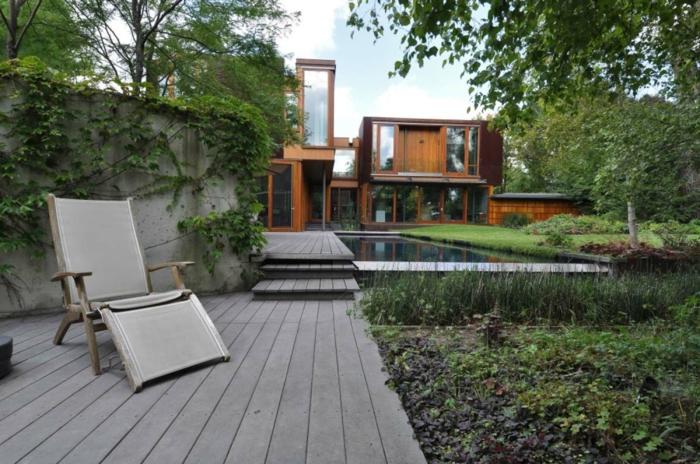 acier-auto-protecteur-architecture-moderne-idées-acier-inoxydable-verande