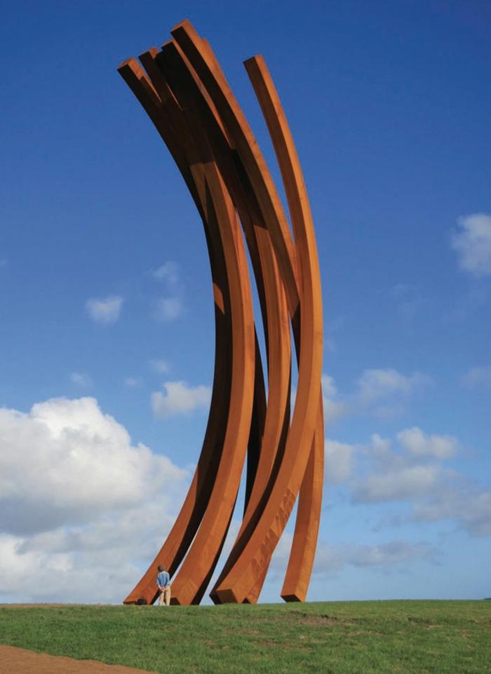 acier-corten-accroître-la-résistance-à-la-corrosion-atmosphérique-idée-sculpture