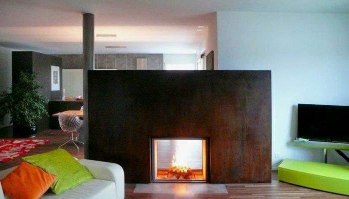 acier-intérieur-corten-fournisseur-design-industriel-salle-de-séjour-cheminée