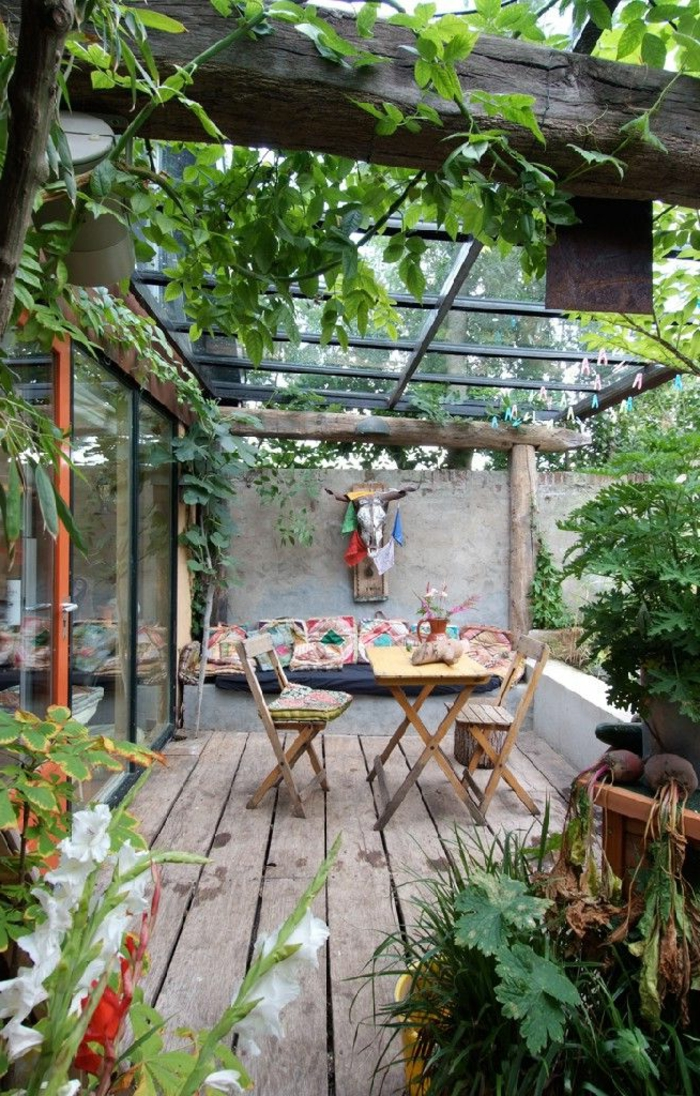 60 photos comment bien am nager sa terrasse for Jardin terrasse