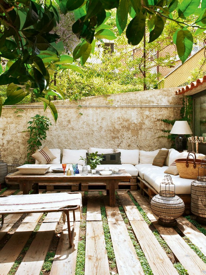 60 photos comment bien am nager sa terrasse for Decoration petit jardin terrasse