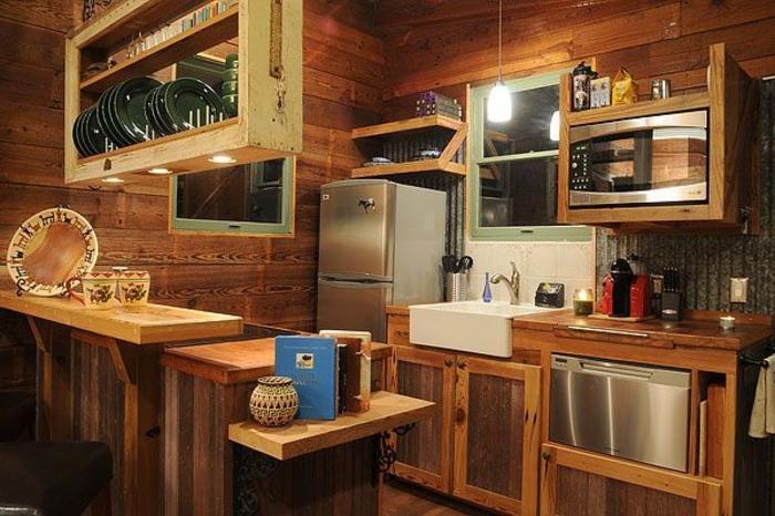 Comment am nager une petite cuisine id es en photos for Petite cuisine en l