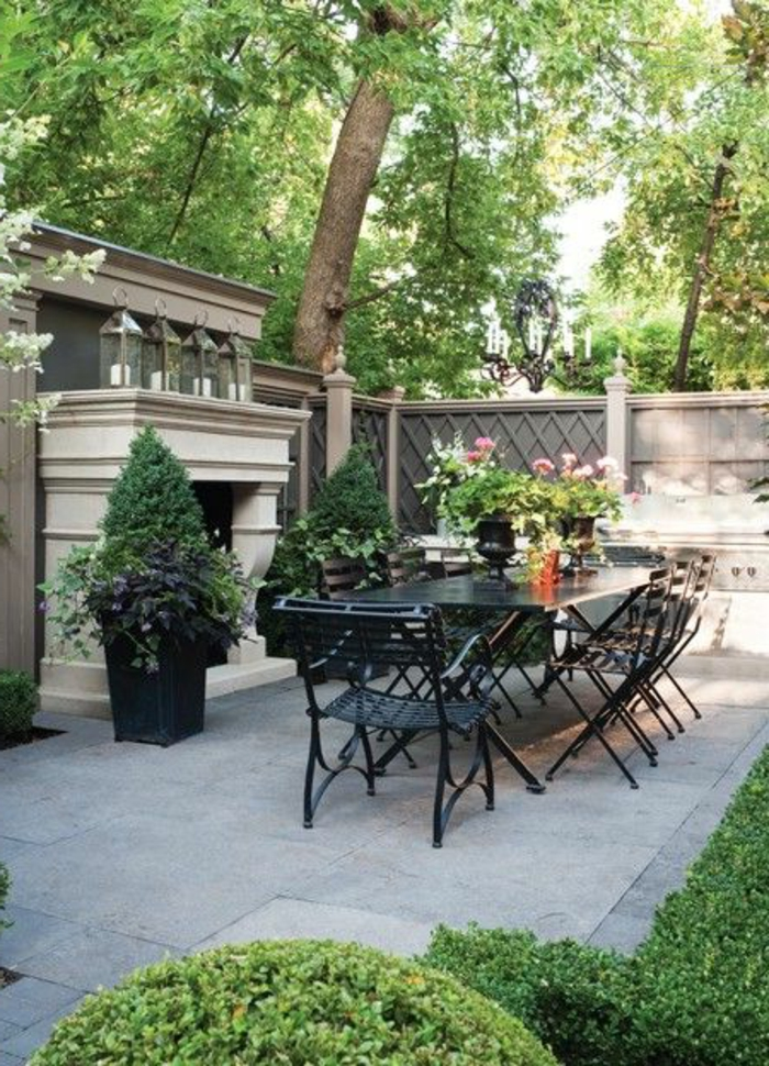 Une jolie idée pour bien aménager sa terrasse. Quels meubles choisir ...