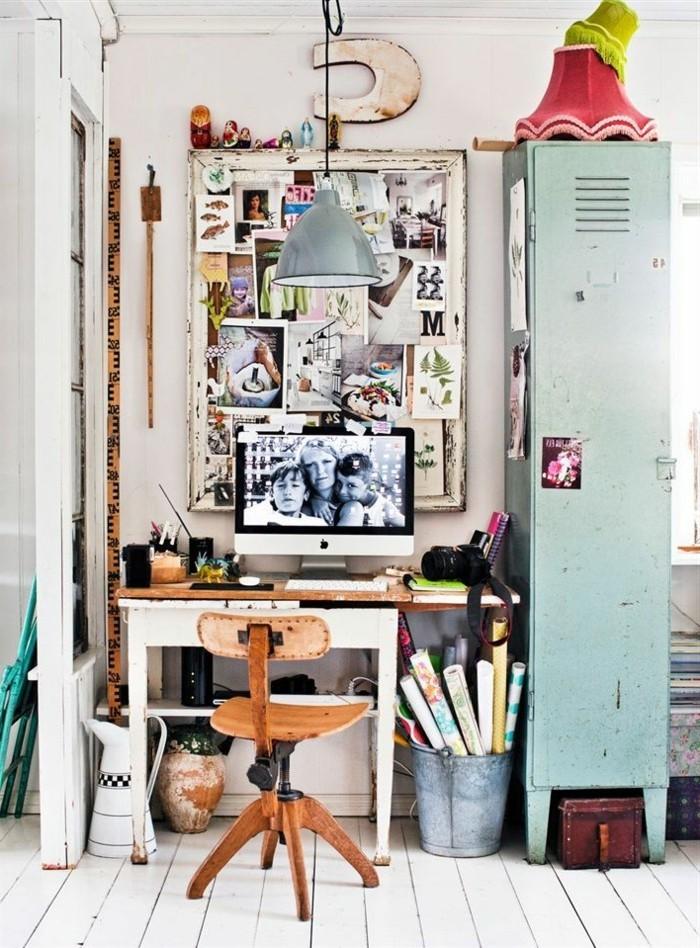 armoire-métallique-bureau-de-travail-à-la-maison