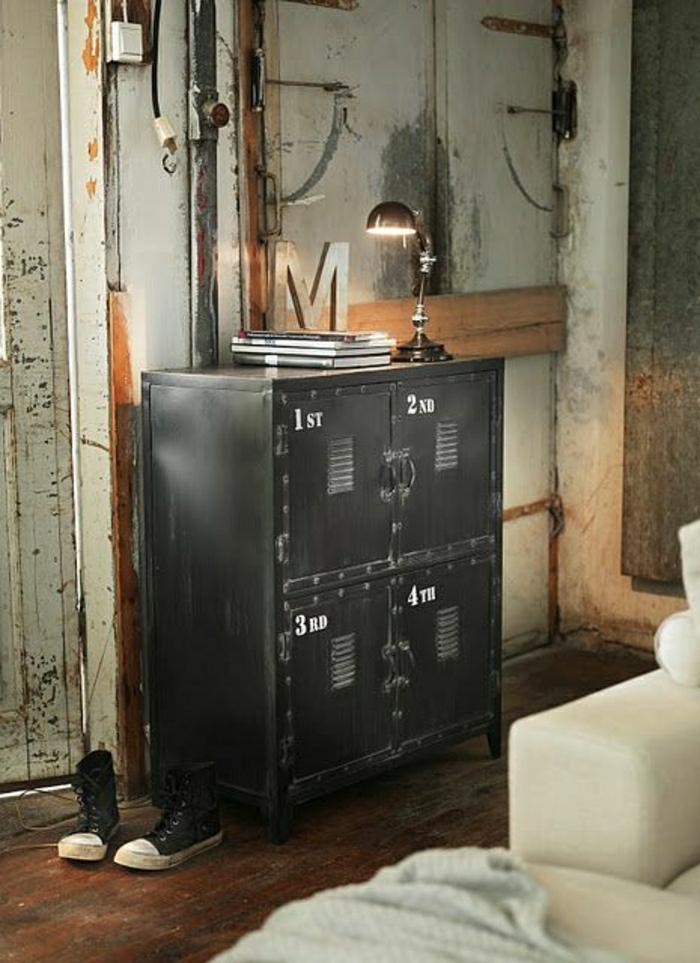 armoire-métallique-rangement-industriel-pour-la-chambre-teenage