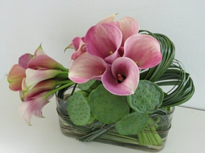 art-foral-moderne-art-botanique-bouquet-extravagant