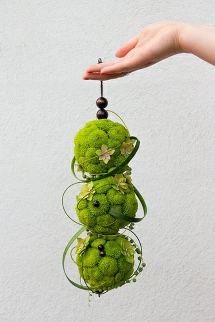art-foral-moderne-bouquet-de-mariée-pendant