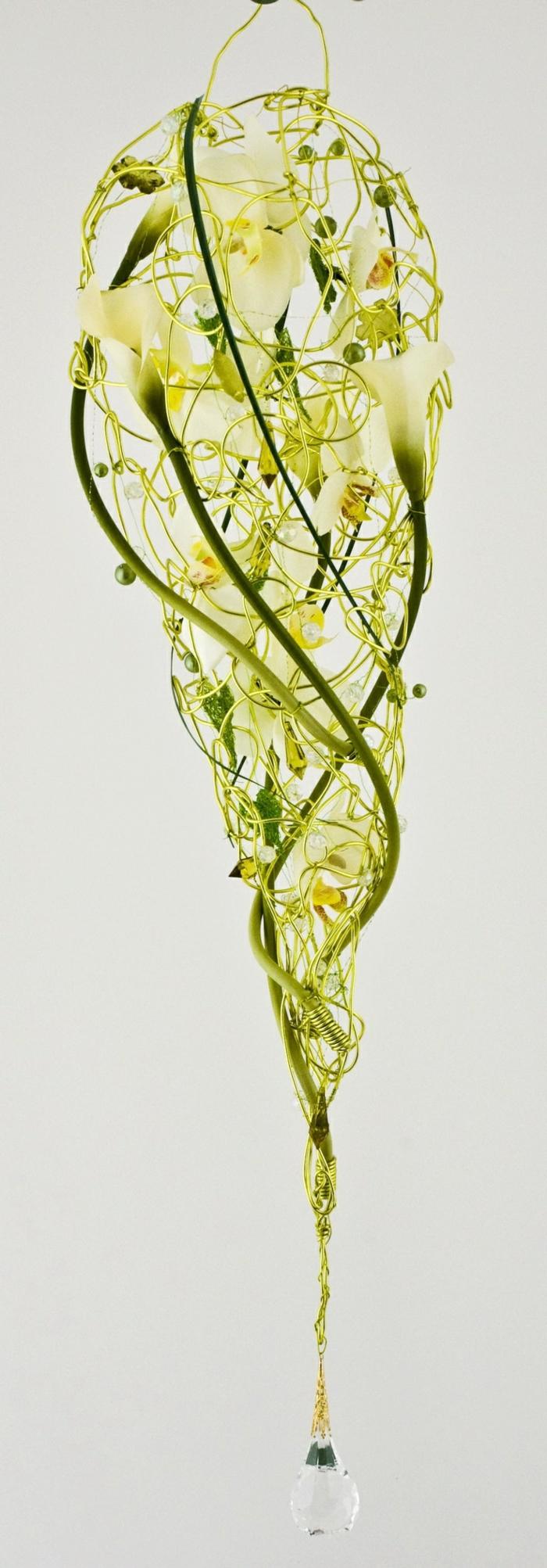 art-foral-moderne-bouquet-flottant-très-doux