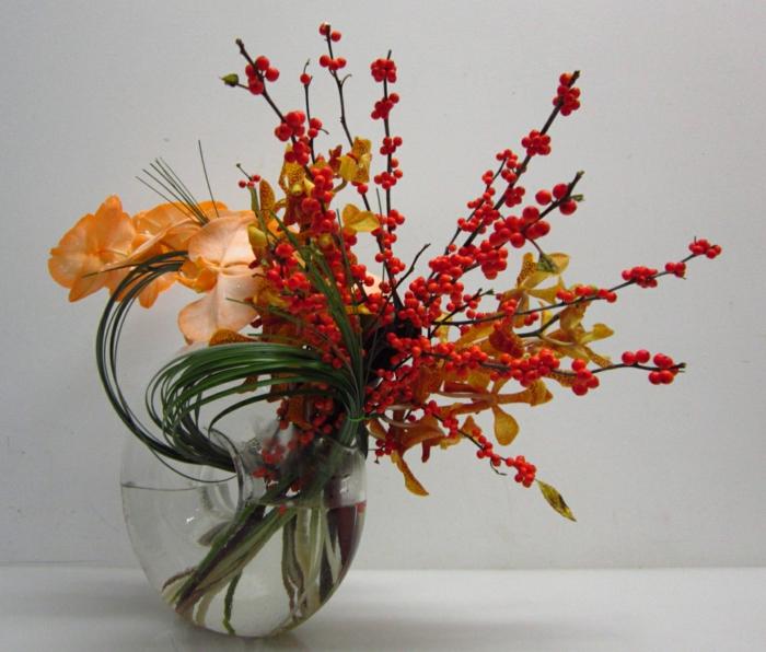 art-foral-moderne-composition-florale-avec-des-tiges