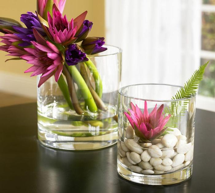 art-foral-moderne-décoration-stylée-avec-fleurs
