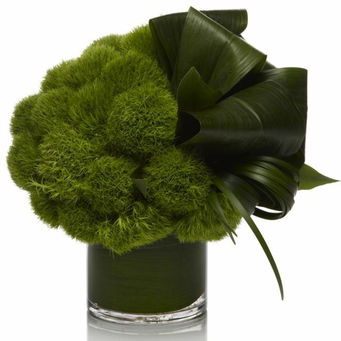 art-foral-moderne-joli-bouquet-tout-vert