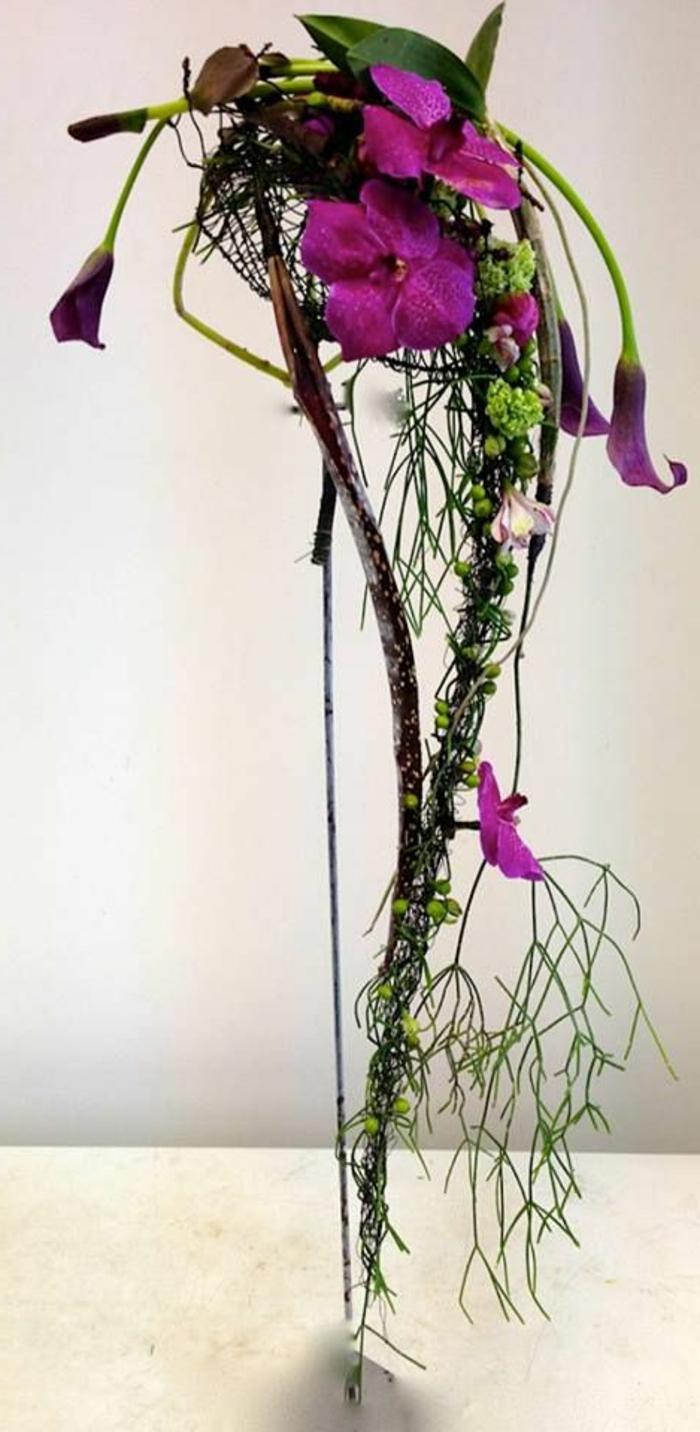 art-foral-moderne-mise-en-scène-de-fleurs-fantastiques