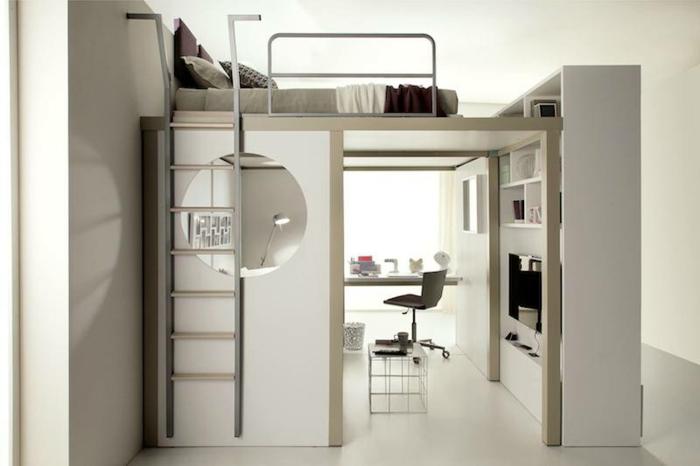 astuce-rangement-chambre-à-coucher-avec-meubles-gain-de-place