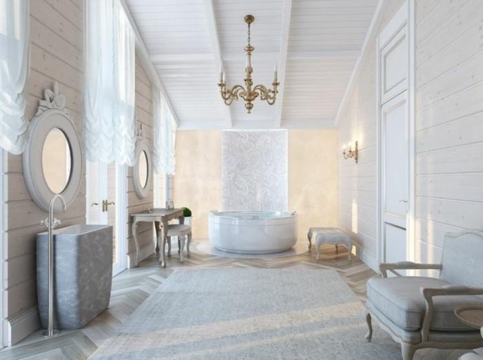 baignoire-ronde-aménagement-de-salle-de-bain-baroque