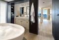 Jolis décors avec une baignoire ronde