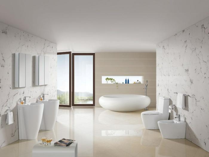 baignoire-ronde-salle-de-bains-en-blanc-et-beige-vasuqes-originales