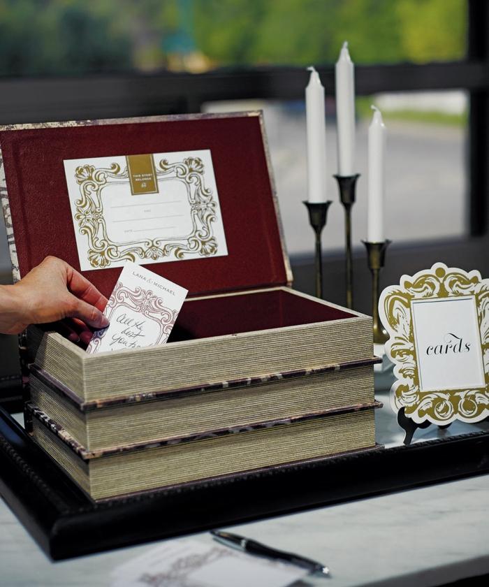 Urne de mariage \u2013 40 idées originales