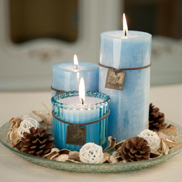 La bougie parfum e les meilleures variantes - Decoration avec des bougies ...