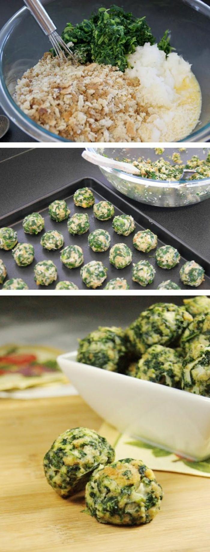 boulettes-d-épinard-entrée-froide-originale-idée-pour-la-table-quelle-entres-froides-choisir