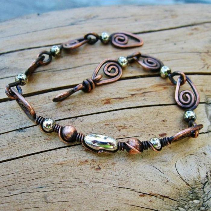 bracelet-en-cuivre-bracelet-de-pied-original