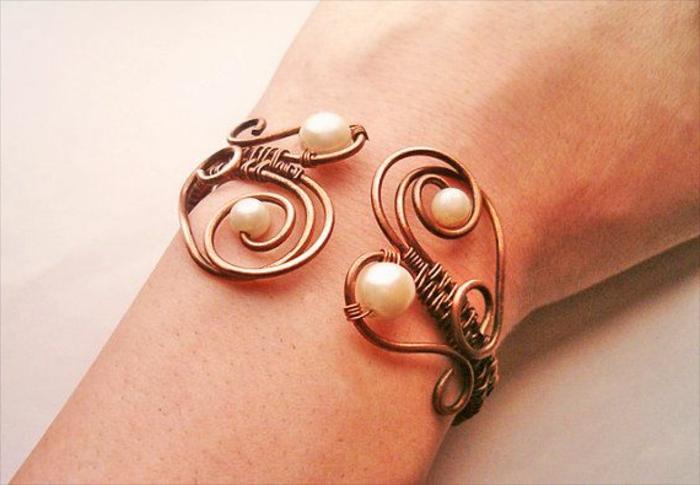 bracelet-en-cuivre-bracelet-doux-romantique-avec-perles