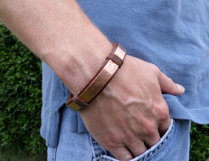 bracelet-en-cuivre-et-cuir-pour-hommes