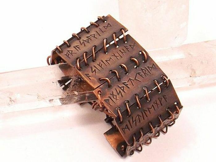 bracelet-en-cuivre-modèle-rustique